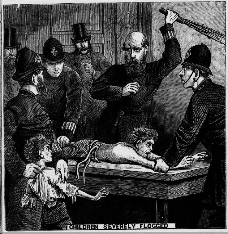 child birch Illustrated Police News - Saturday 10 February 1877