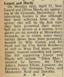 The Stage - Thursday 17 April 1952