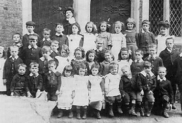 children at a workhouse