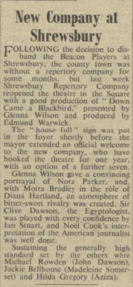 The Stage - Thursday 30 September 1954