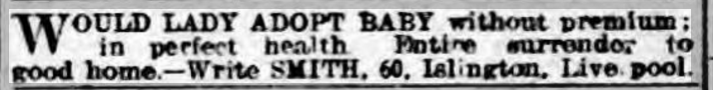 Lincolnshire Echo - Monday 25 March 1907 would someone like my baby