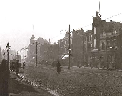 scotland road 1908