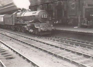 steam train at exeter st davids english-gent ebay