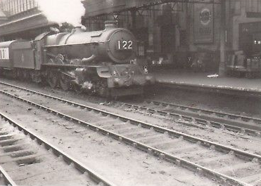 steam train at exeter st davids english-gent ebay