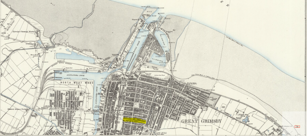 wood street old map 1852