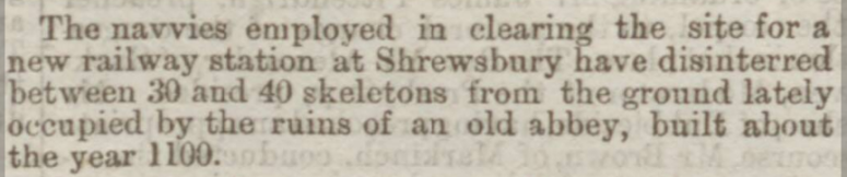 Skeletons Dundee Courier - Saturday 07 July 1866