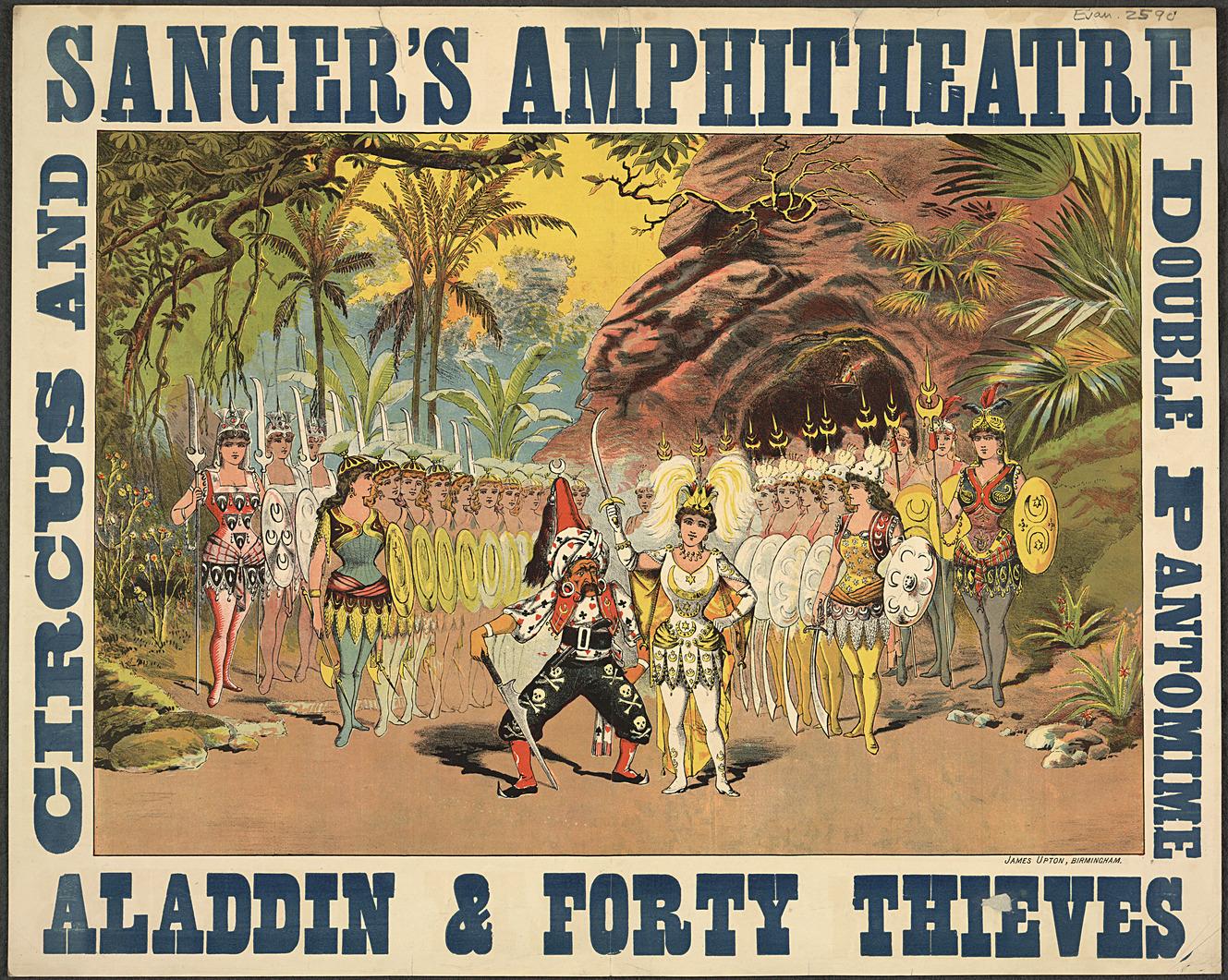 Sanger's Amphitheatre Poster