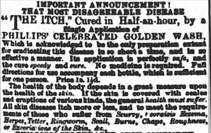 golden wash Wellington Journal - Saturday 03 February 1866