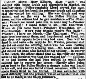 zulu prostitute Wellington Journal - Saturday 04 August 1883
