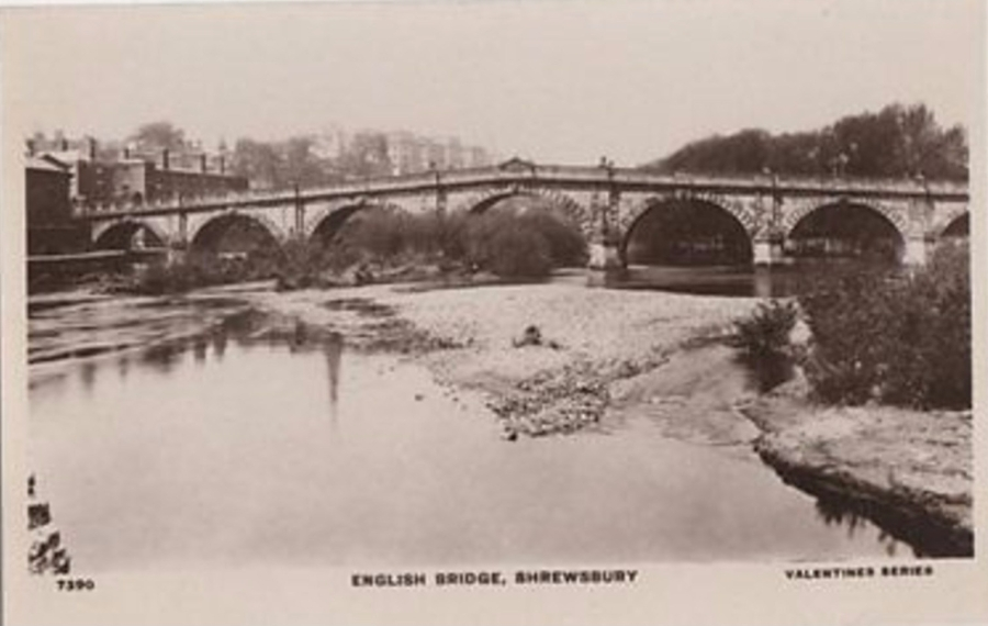 885_001_english-bridge-shrewsbury-vintage-rp-postcard-450b