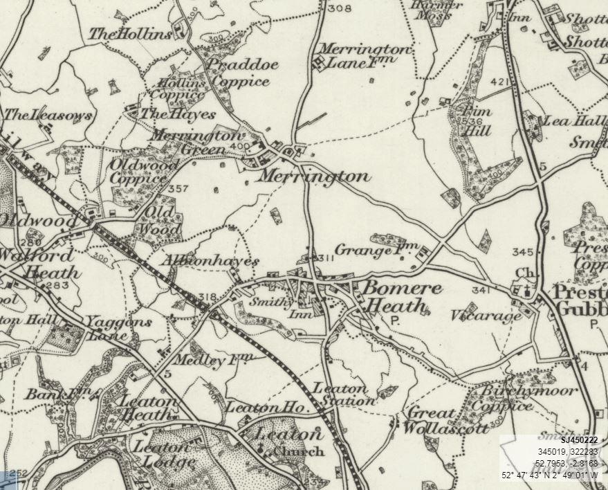 1900 OS MAP