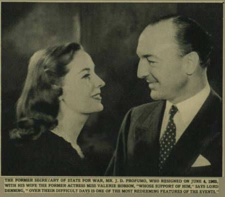 Mr Profumo and his wife. Illustrated London News - Saturday 05 October 1963Image © Illustrated London News Group