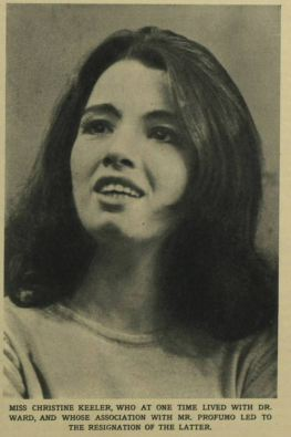 Christine Keeler. Illustrated London News - Saturday 05 October 1963Image © Illustrated London News Group