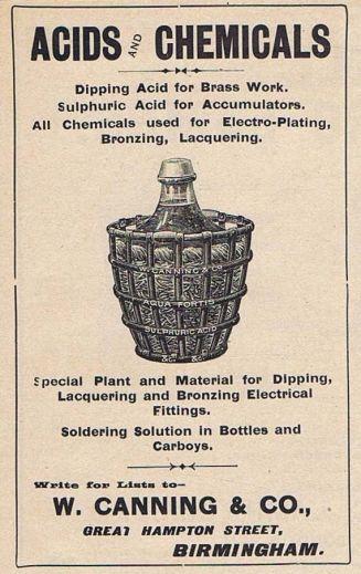 acid advery 1904