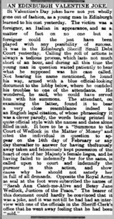 Edinburgh Evening News - Thursday 16 February 1893