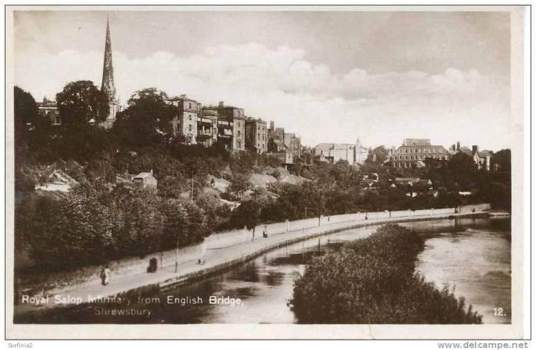 600_001_shrops-shrewsbury-royal-salop-infirmary-from-english-bridge-rp-sh109
