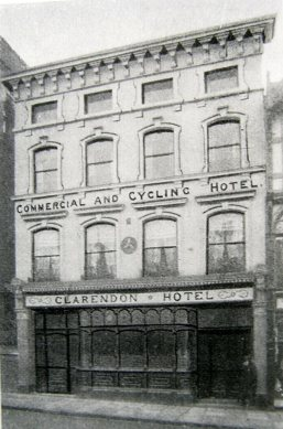 Clarendon Hotel where the inquest took place