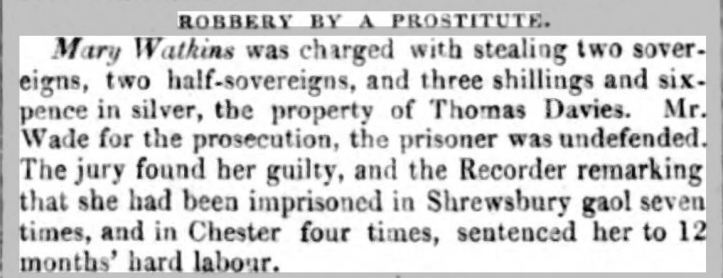 Shrewsbury Chronicle - Friday 30 June 1854 watkins previous