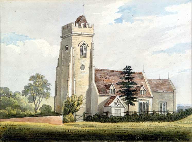 High Ercall church