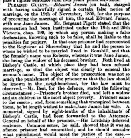 Shrewsbury Chronicle - Friday 22 March 1861