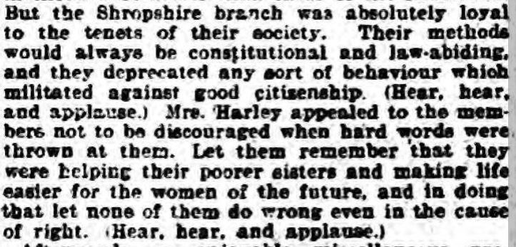 Shrewsbury Chronicle - Friday 01 October 1909