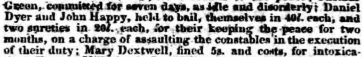 dyer gloucestershire chronicle - saturday 01 february 1834