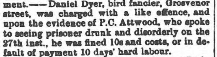dyer gloucestershire echo - tuesday 28 june 1892