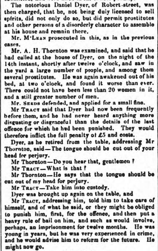 dyler belfast commercial chronicle - saturday 24 june 1854