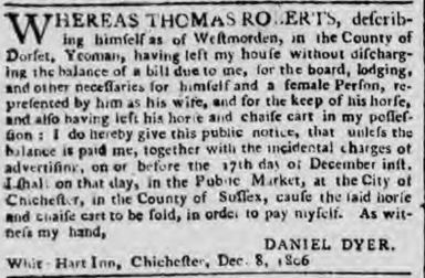hampshire telegraph - monday 15 december 1806