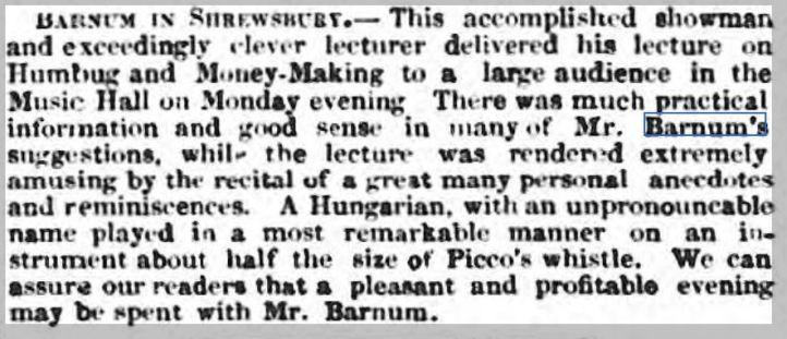 Barnum Wellington Journal - Saturday 05 March 1859