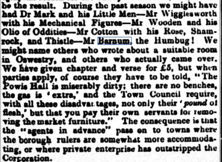 Oswestry Advertiser - Wednesday 09 March 1859