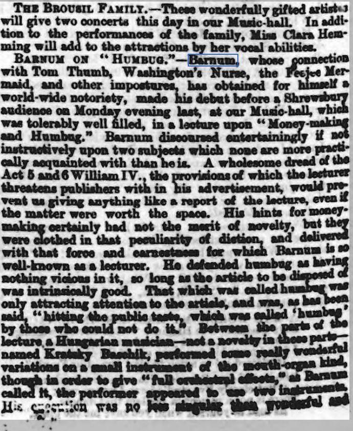 Shrewsbury Chronicle - Friday 04 March 1859