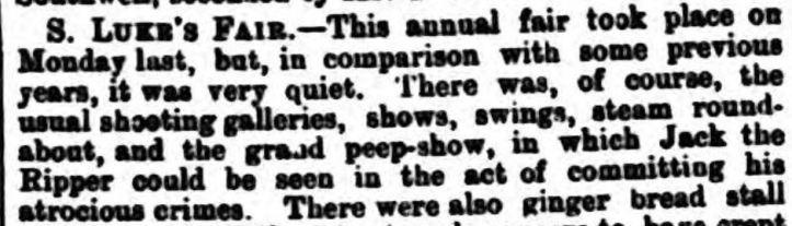 Bridgnorth Journal and South Shropshire Advertiser. - Saturday 03 November 1888