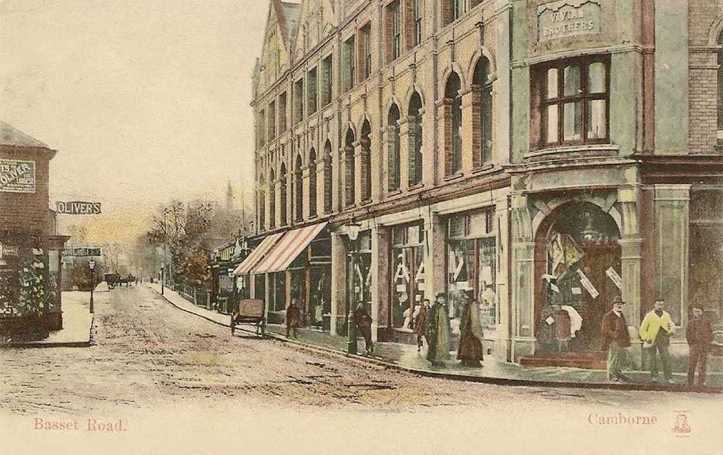 Cornwall, Camborne, Basset Road - Vivian Brothers in the 1900's