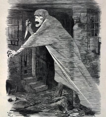 'A phantom on the slum's foul air'
