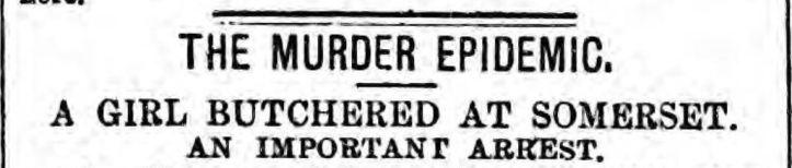 murder epsidmeic