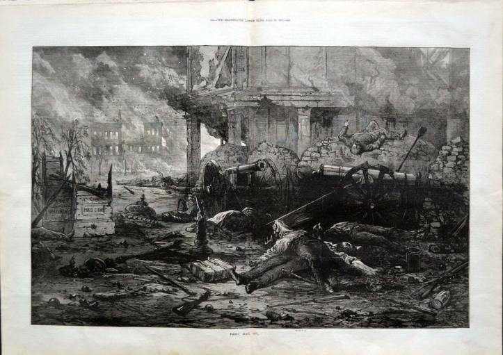 "PARIS-MAY-1871-""Bloody-Week""-Communards-Ruins"